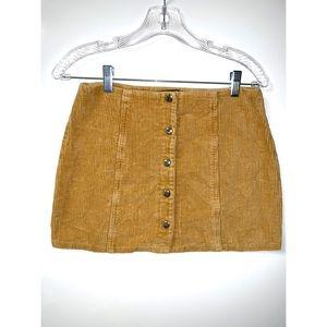 forever corduroy skirt